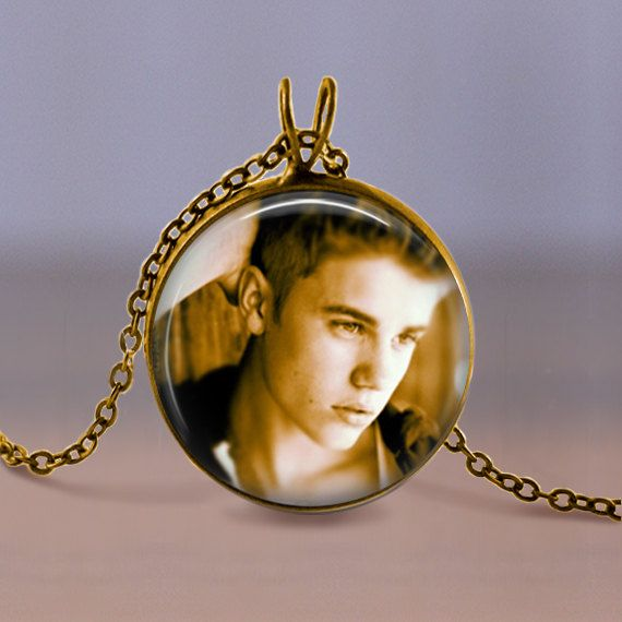 Bronze Jewelry  Necklace  Justin Bieber by MaDGreenCreations, $7.49
