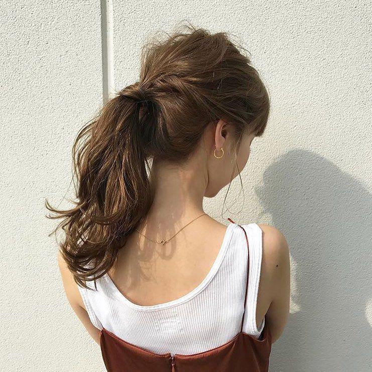 髪の量が多い人におすすめ簡単ヘアアレンジ 髪型 ショート ボブ