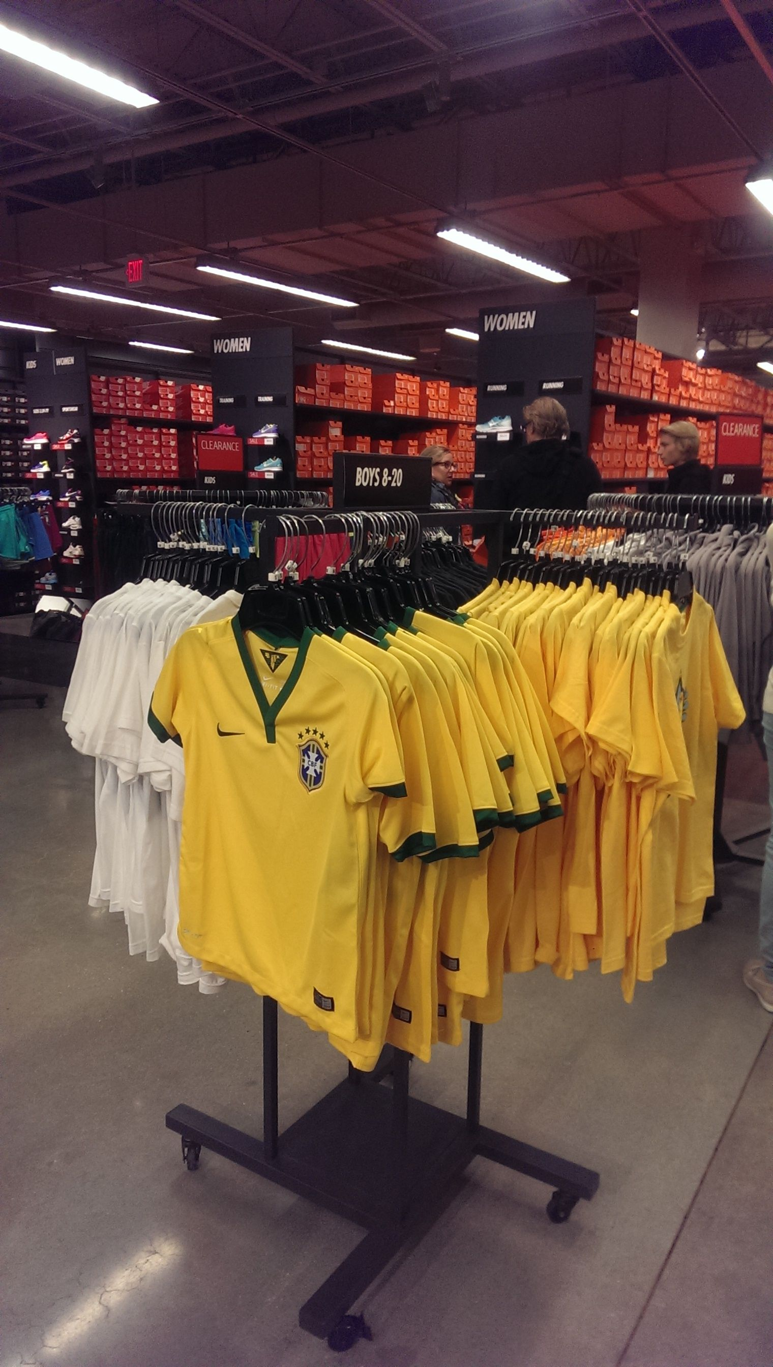 Boy S Youth Team Brazil Usa Jerseys At Nike Factory Store