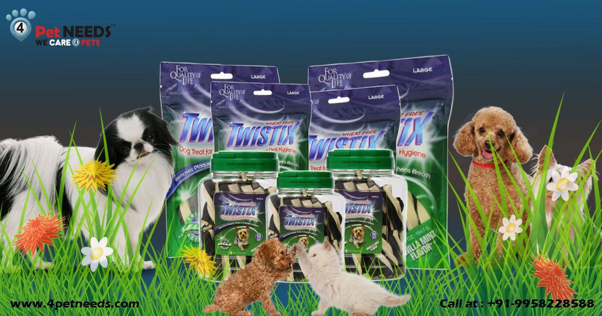 Keep hygienic oral health through Twistix Dental Chews for