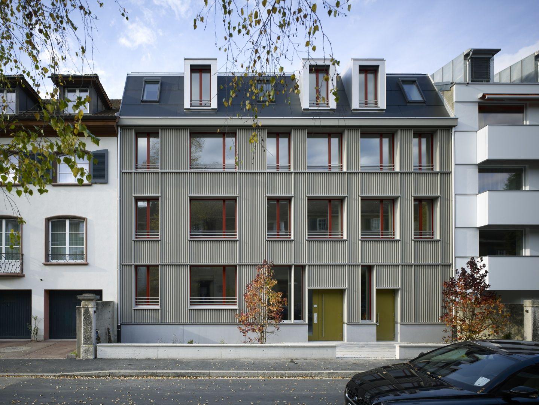 Neubau Wohnhaus Aescherstrasse 12, Basel Neoklassische