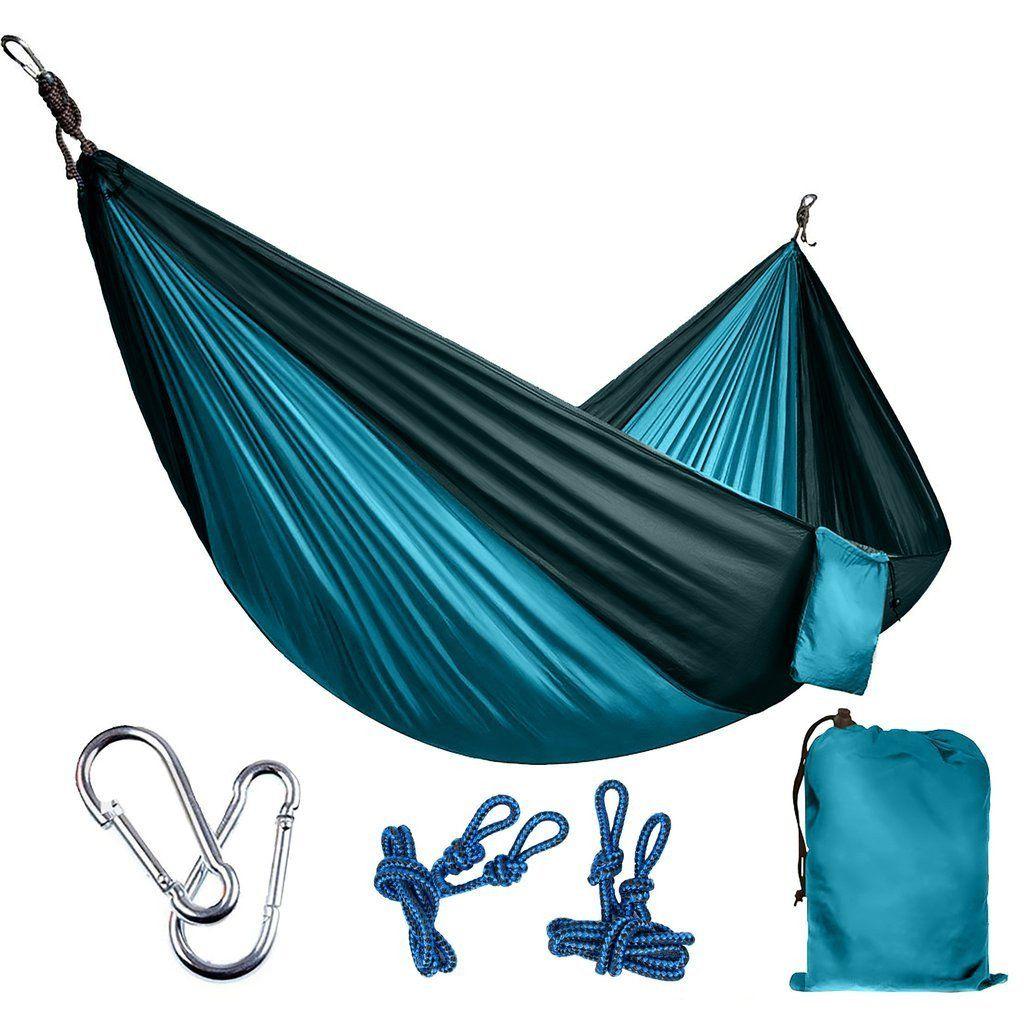 Multiuse portable parachute hammock for people parachute
