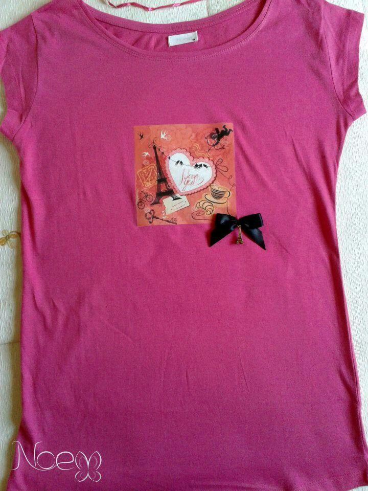 Camiseta I love París