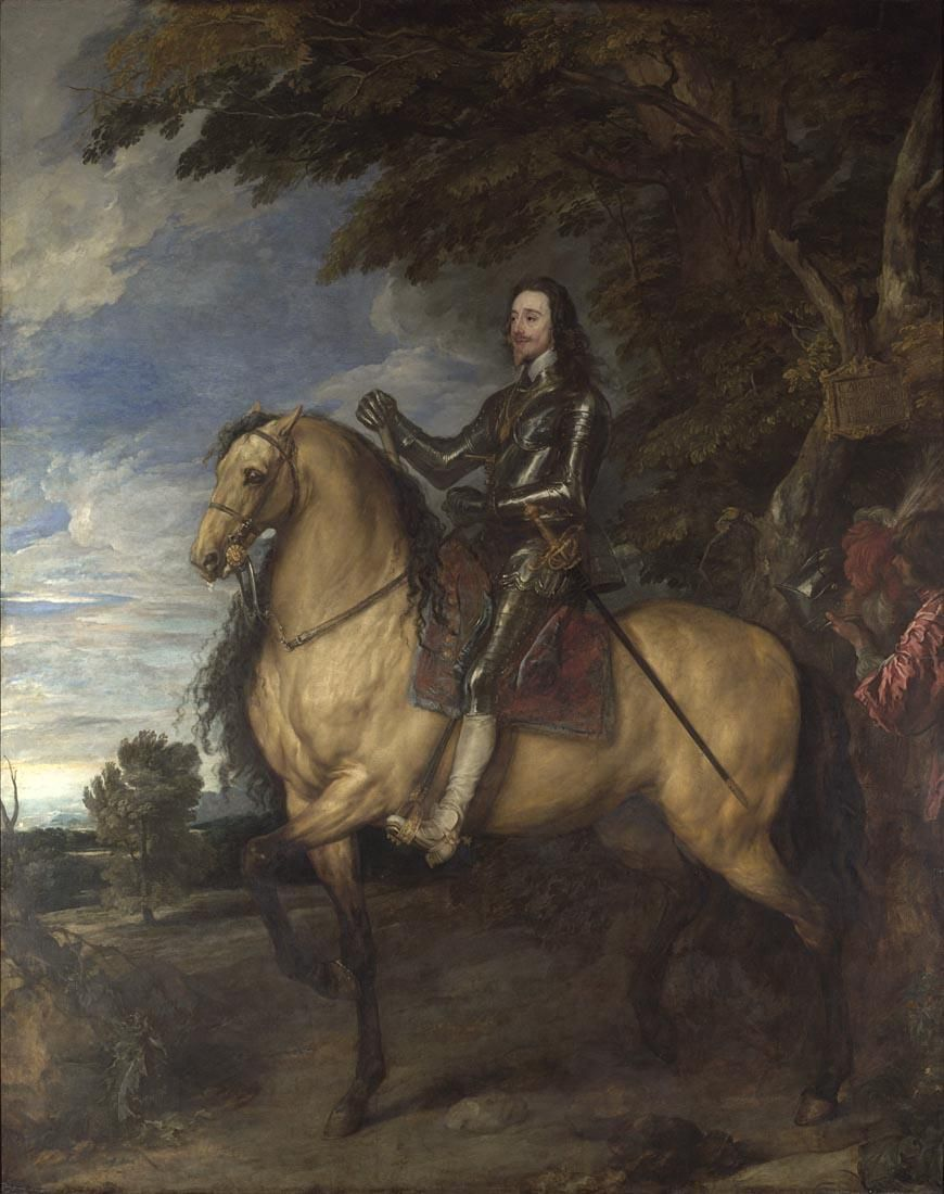Van Dyck, known for his elegant portraits of King Charles I, was knighted #OnThisDay in 1632: http://bit.ly/1gaETaF
