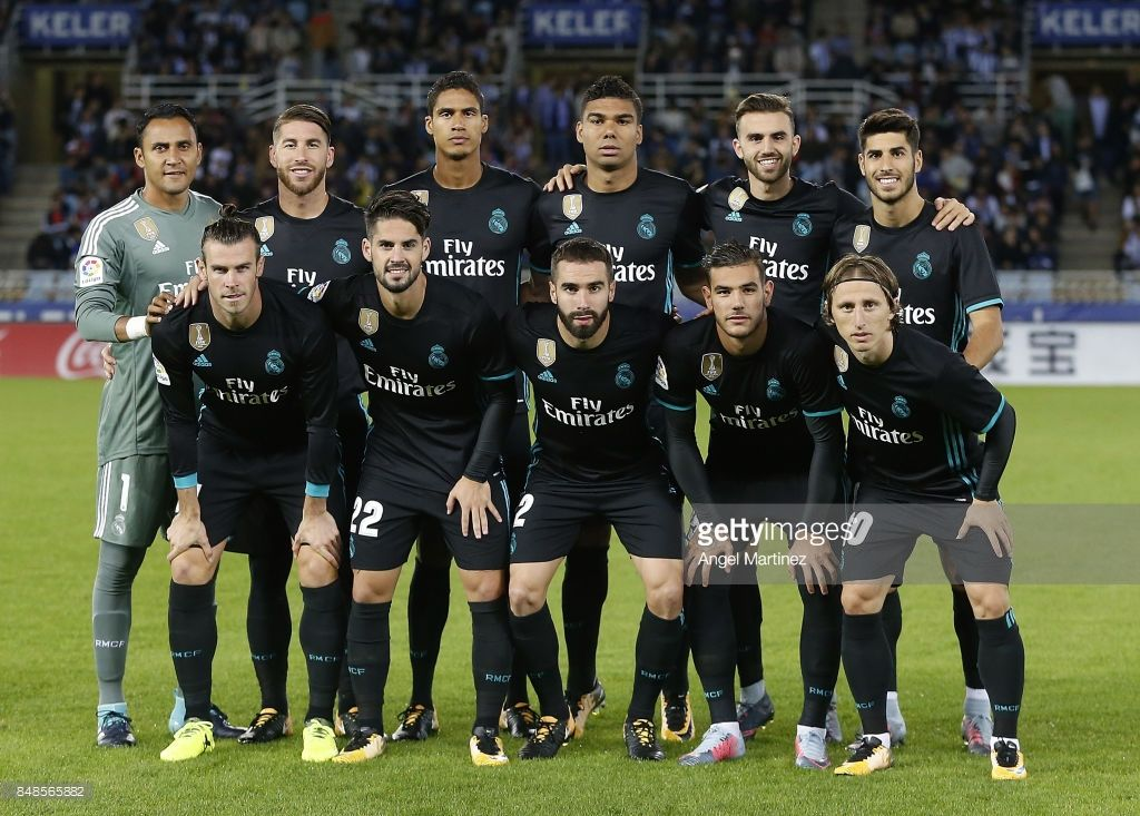 Real Sociedad V Real Madrid La Liga Photos And Premium High Res Pictures Real Madrid Real Madrid La Liga La Liga