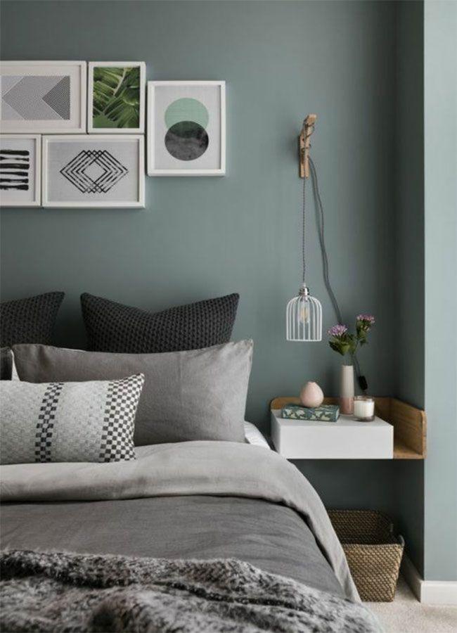 En photos 15 inspirations pour une belle chambre verte Home