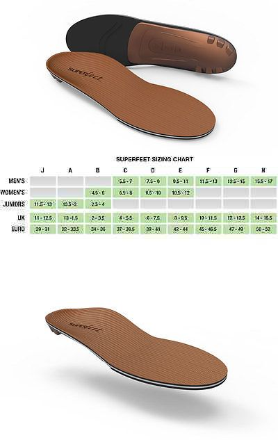 Shoe Insoles 169284: Superfeet Copper Premium Insoles -> BUY IT NOW ONLY: $44.99 on eBay!