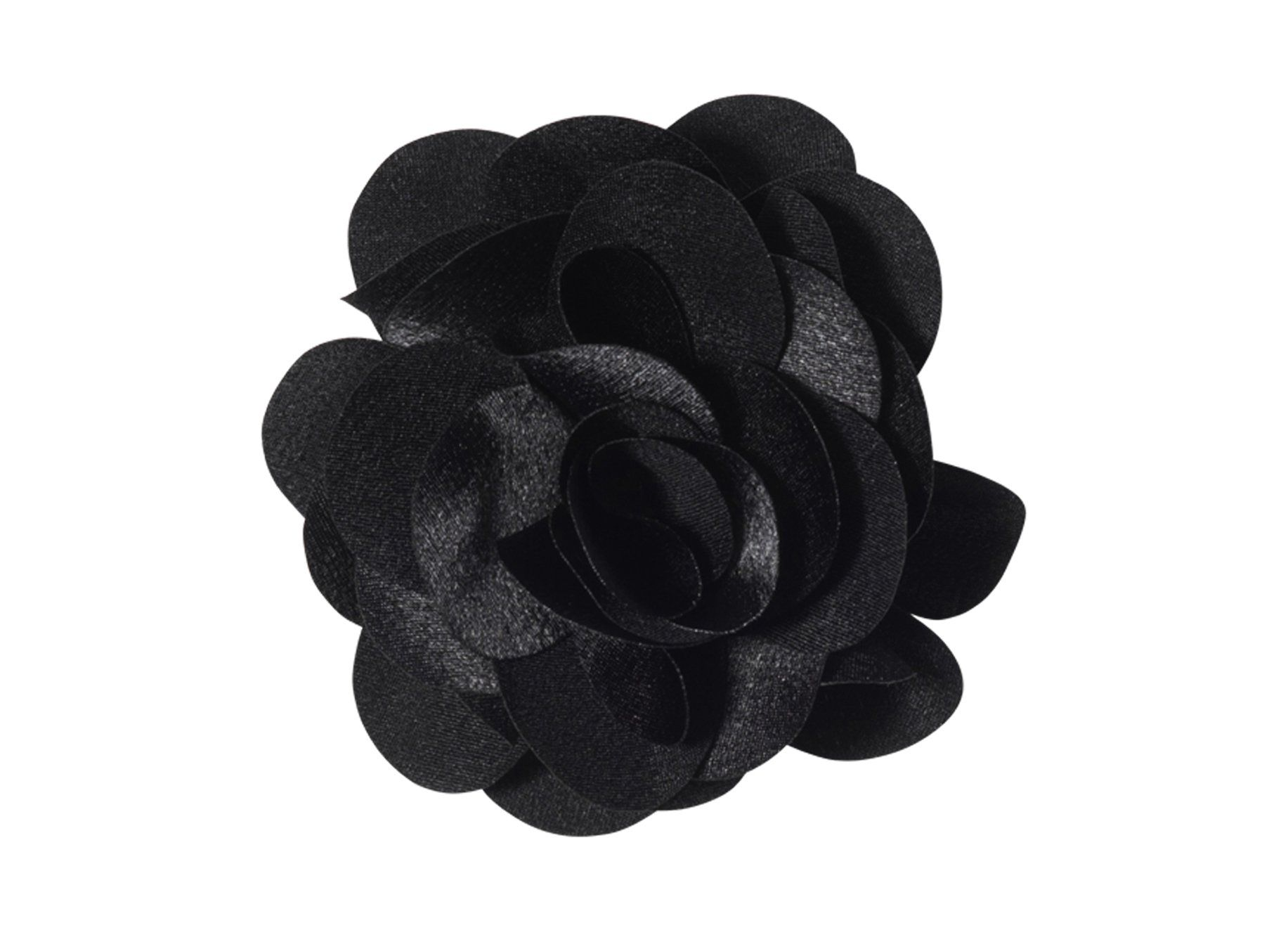 Anna Belen Girls Fleur Medium Flower Hair Clip Os Black
