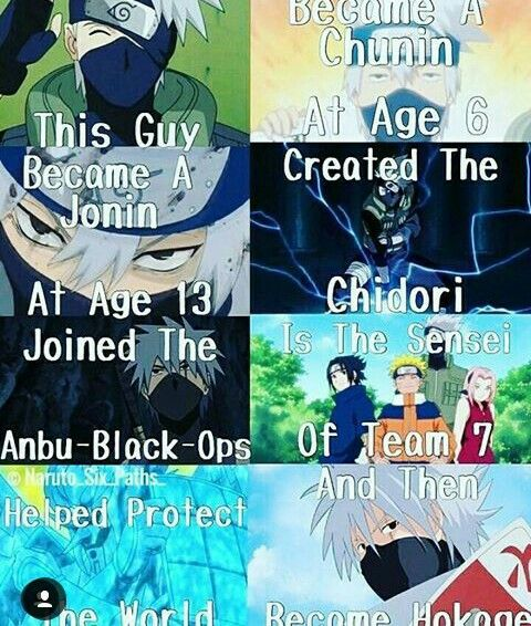 He should have his own anime.