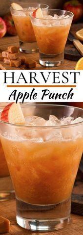 Harvest Punch #drinks #cocktails #punch #applecider #fall,  #applecider #Cocktails #drinks #F... #thanksgivingdrinksalcohol