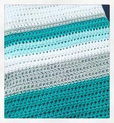 Making progress! #handmadewithlove #handmade #newborngifts #babyblanket #crochetblanket #crochet #wool #yarn by raffertyandrose