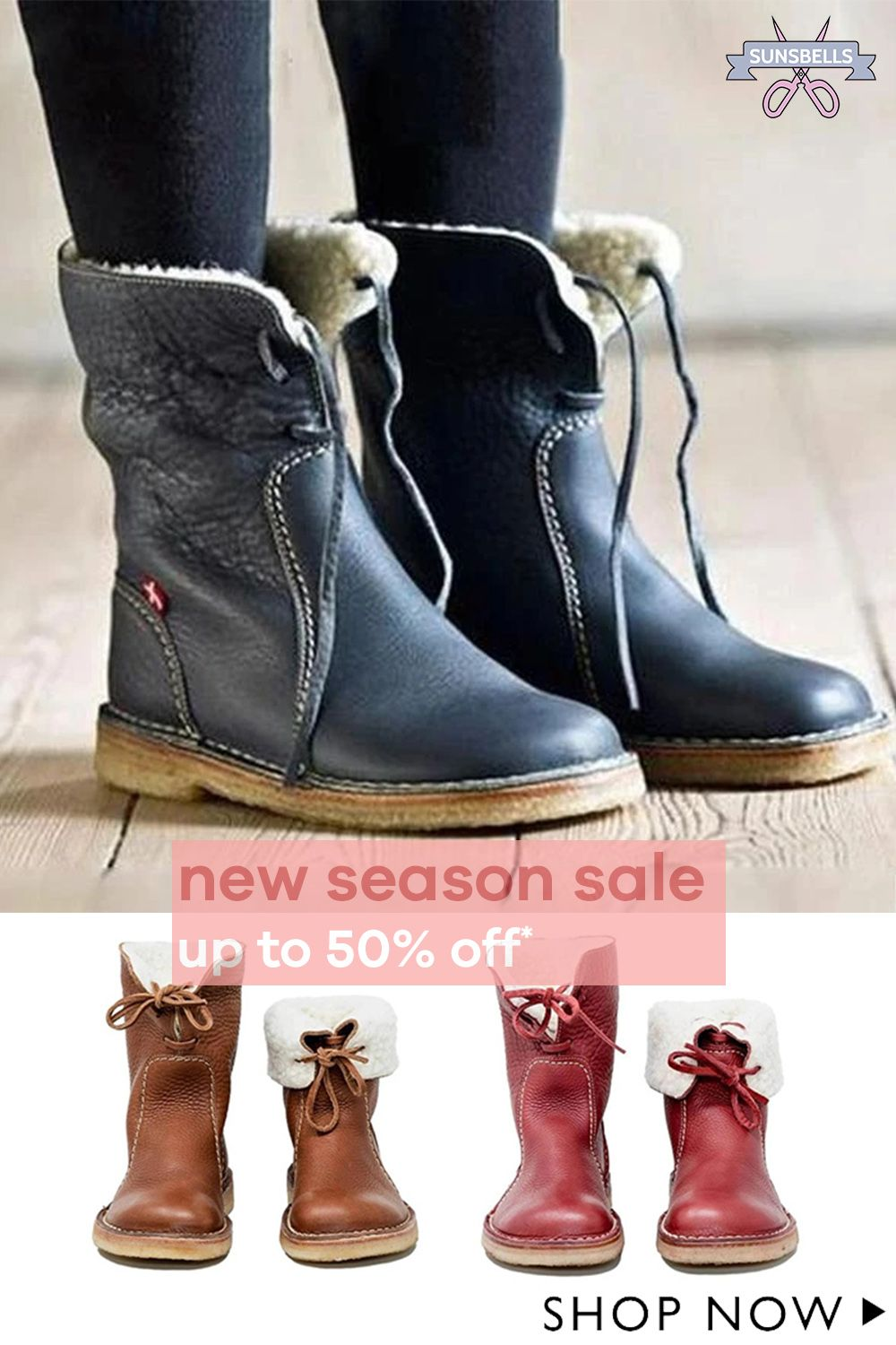 Comfortable Warm Snow Boots in 2020