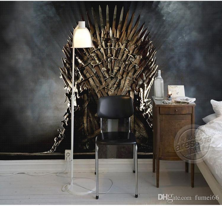 Game Of Thrones Wallpaper Iron Throne Wall Murals Custom Photo
