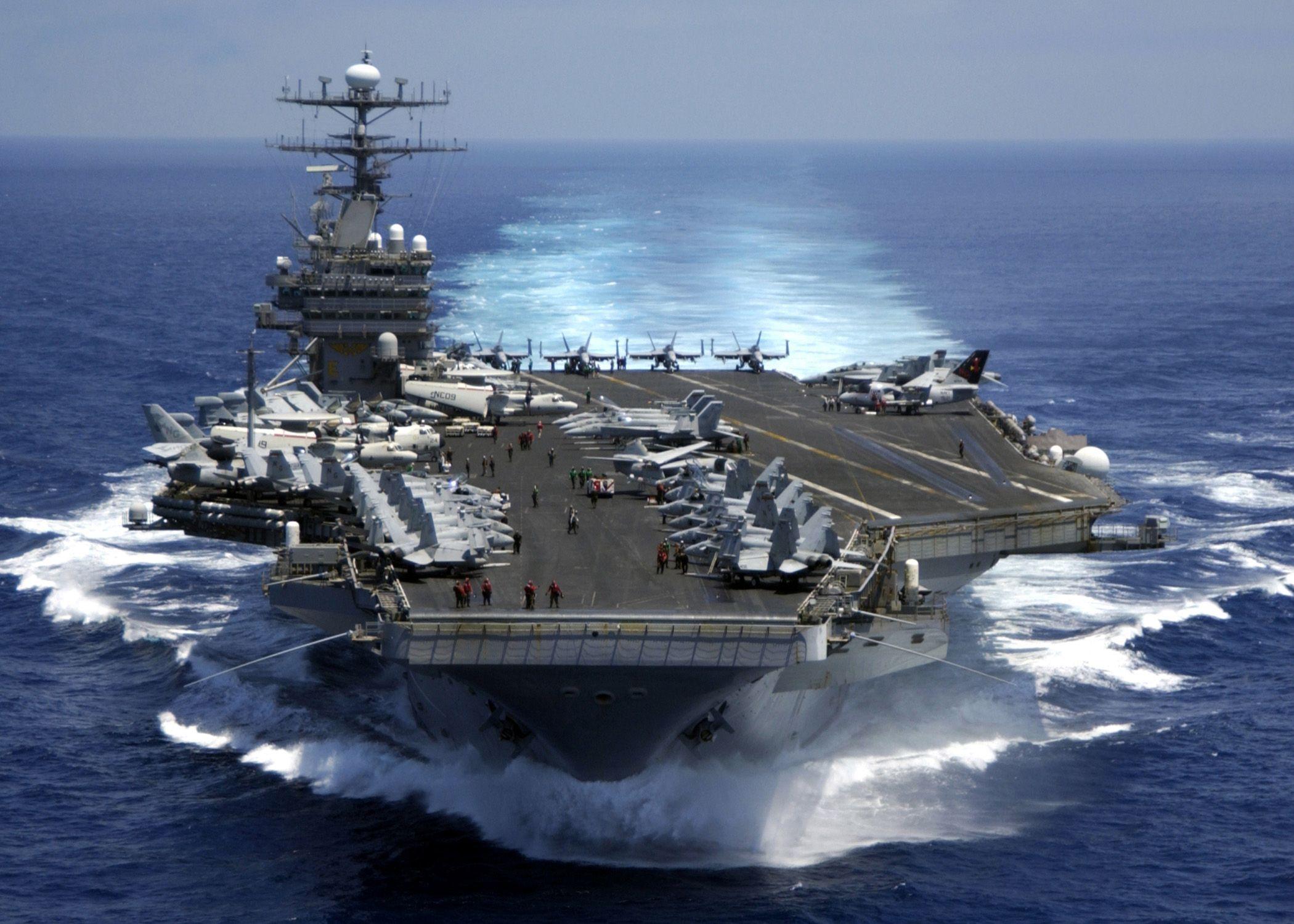 Image result for Tàu sân bay USS Carl Vinson
