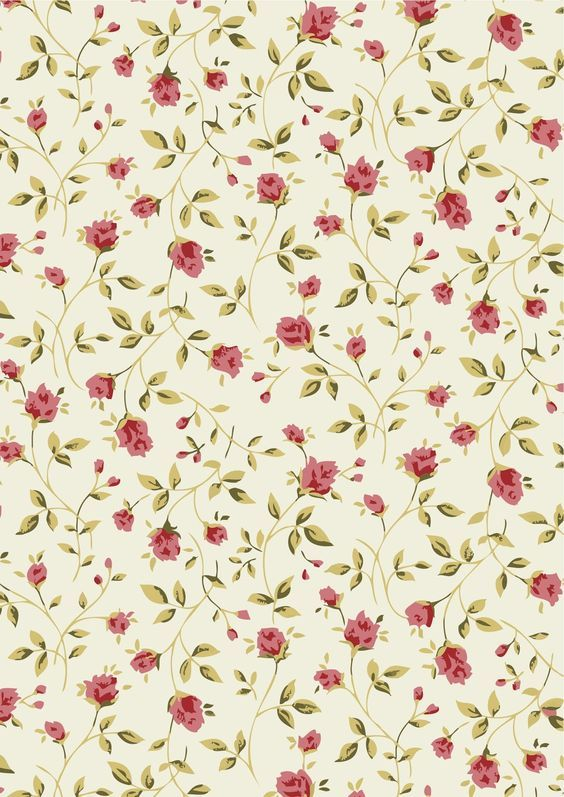 Free Vector Small Flower Pattern Background 05 Titanui Vintage Flower Backgrounds Vintage Flowers Floral Printables