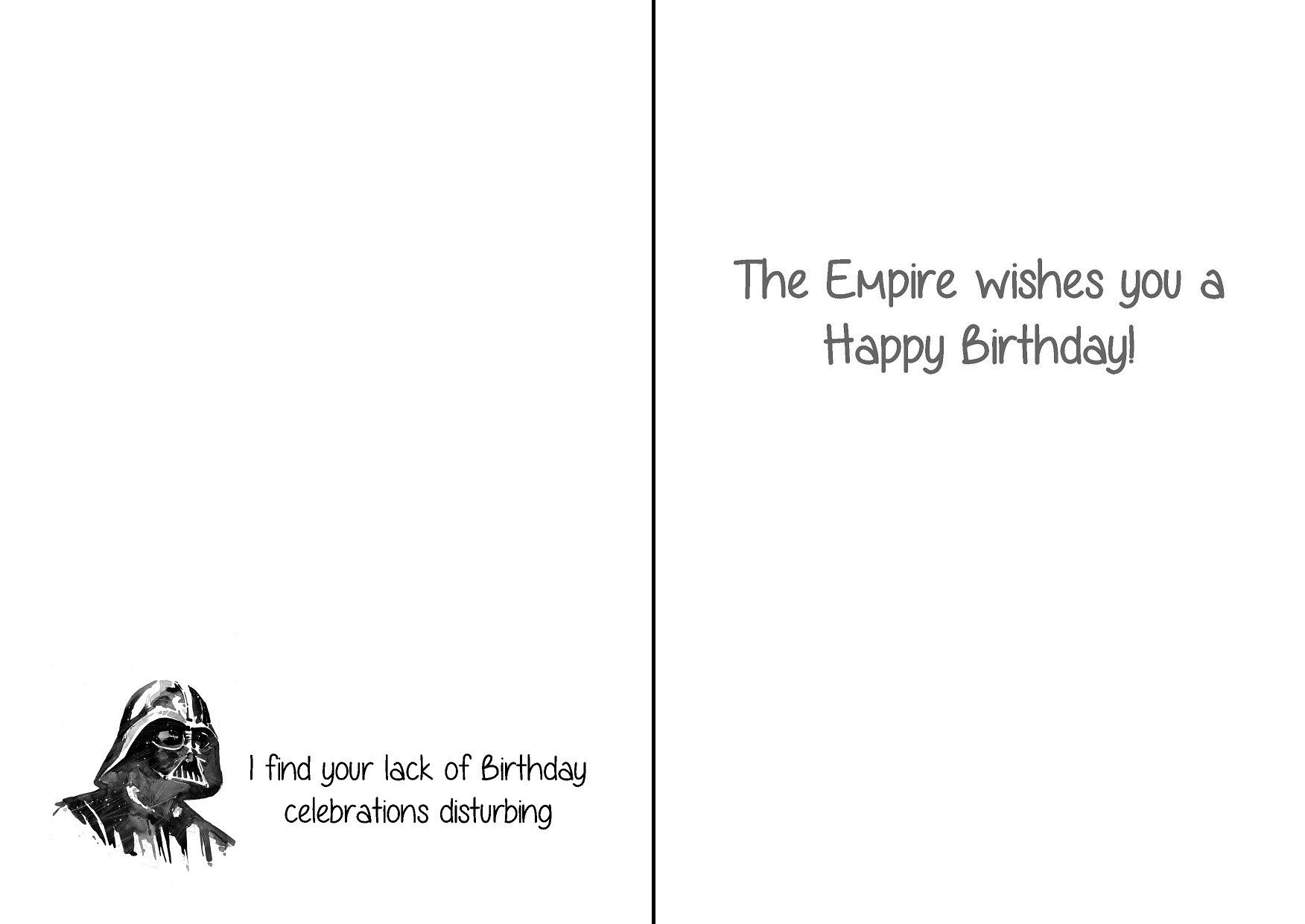 darth vader birthday card star wars pinterest darth vader birthday card bookmarktalkfo Gallery