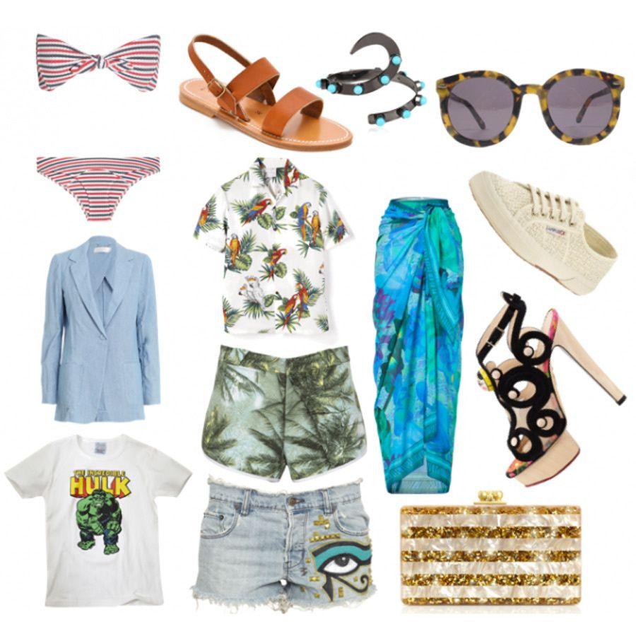 218846bad80 Los mejores looks de The Man Repeller  maleta para la playa