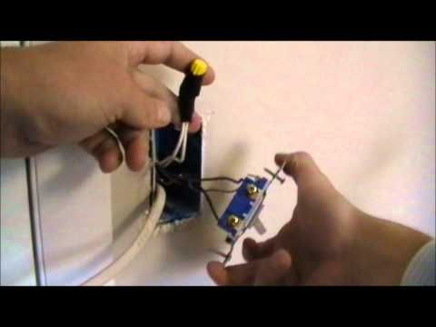 how to wire an outlet off of a switch - YouTube. Doing this in my ...