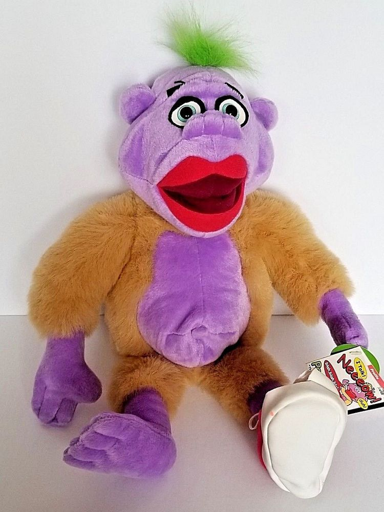 Jeff Dunham S Peanut The Purple Guy Talking Plush Stuffed Animal 18