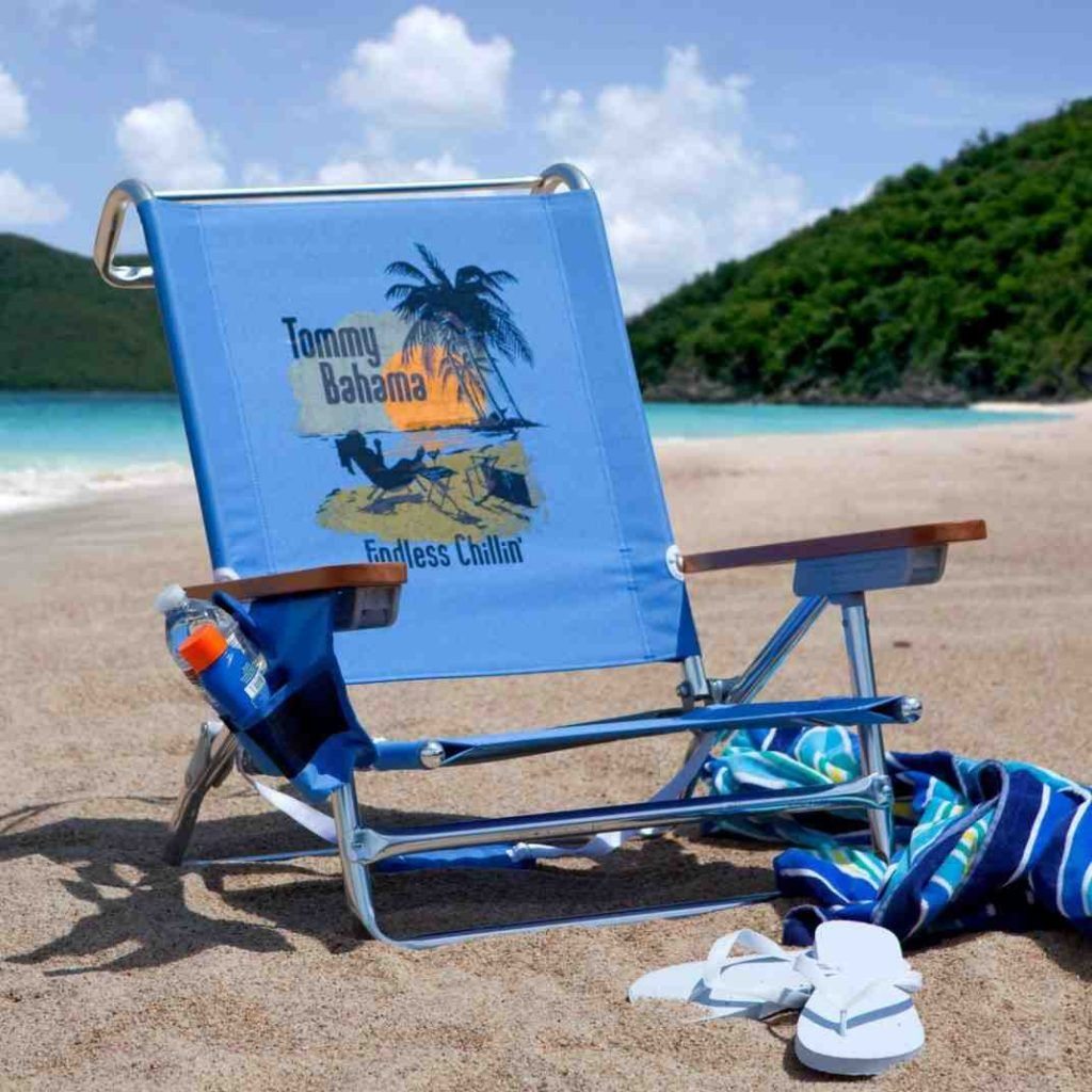 Tommy Bahama Backpack Cooler Beach Chair | Beach Chairs ...