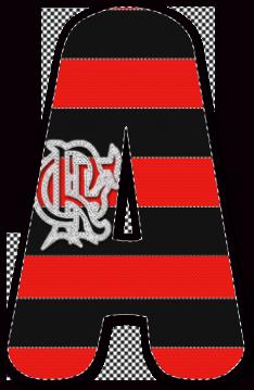 Pin de Alfabeto Decorativo em Alfabetos - Decorativos - Grátis ... 88cf5de5accab
