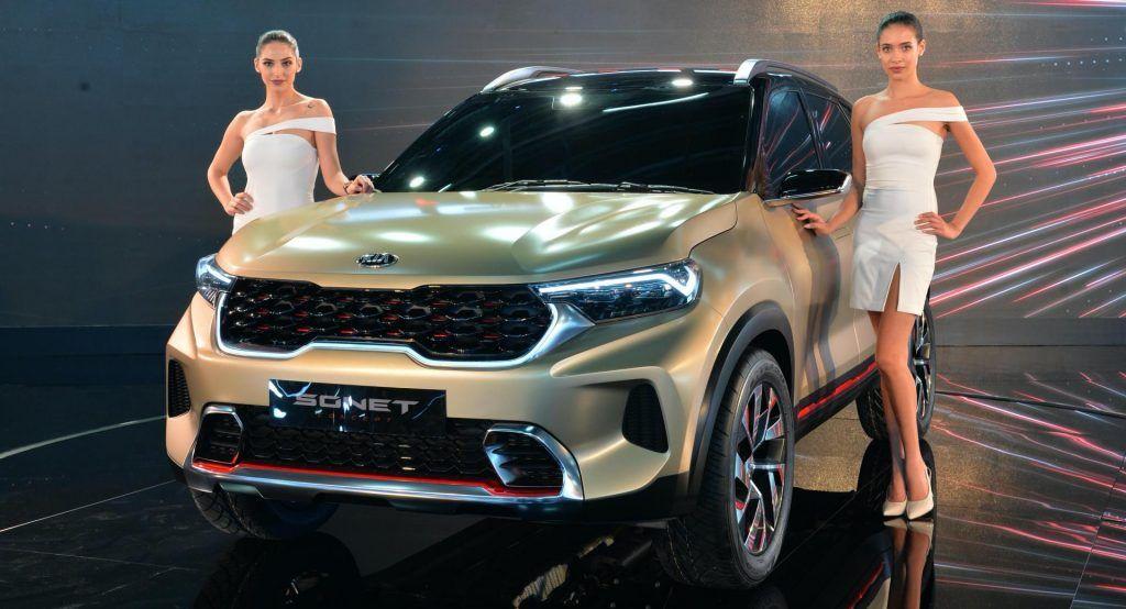 Kia Sonet Concept Announces Global Small Suv At India S Auto Expo 2020 In 2020 Small Suv Kia Expo 2020