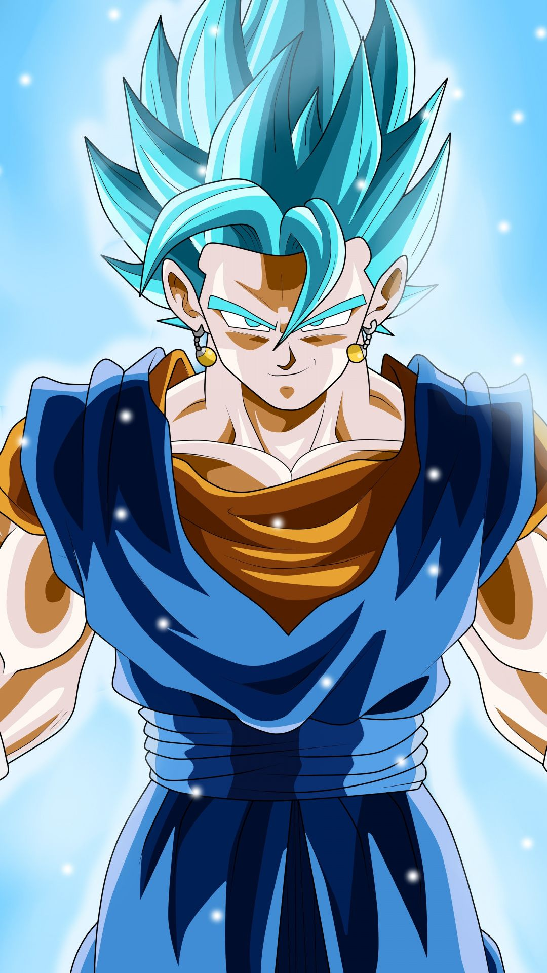 Vegetto Super Saiyan Dragon Ball Super Anime 1080x1920 Wallpaper Anime Dragon Ball Super Dragon Ball Goku Anime Dragon Ball