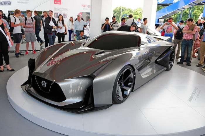 The Nissan 2020 Vision Gran Turismo Concept Concept Cars Super Cars Cars