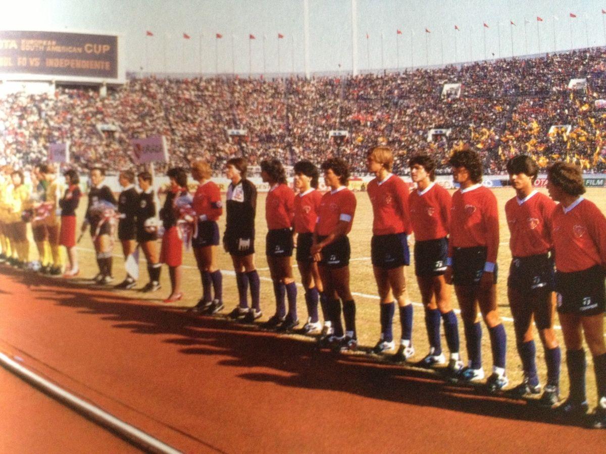 1984 Final Intecontinental en Tokyo versus Liverpool de Inglaterra ...