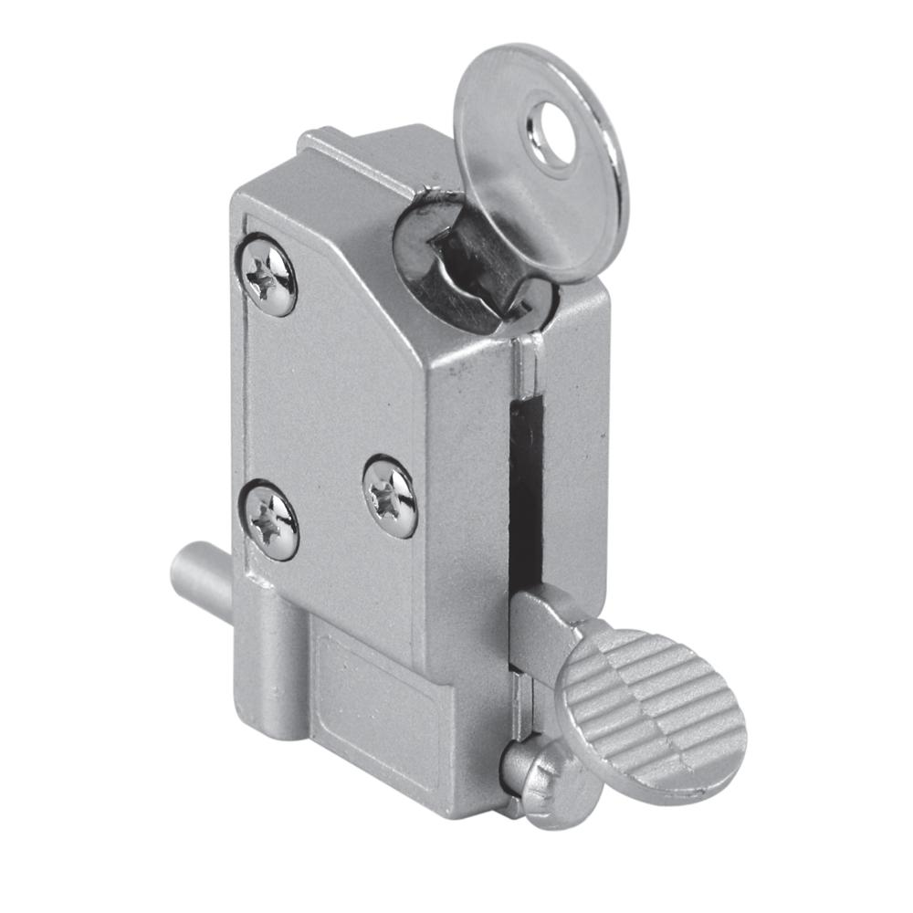 Sliding Door Lock With Pin Hole