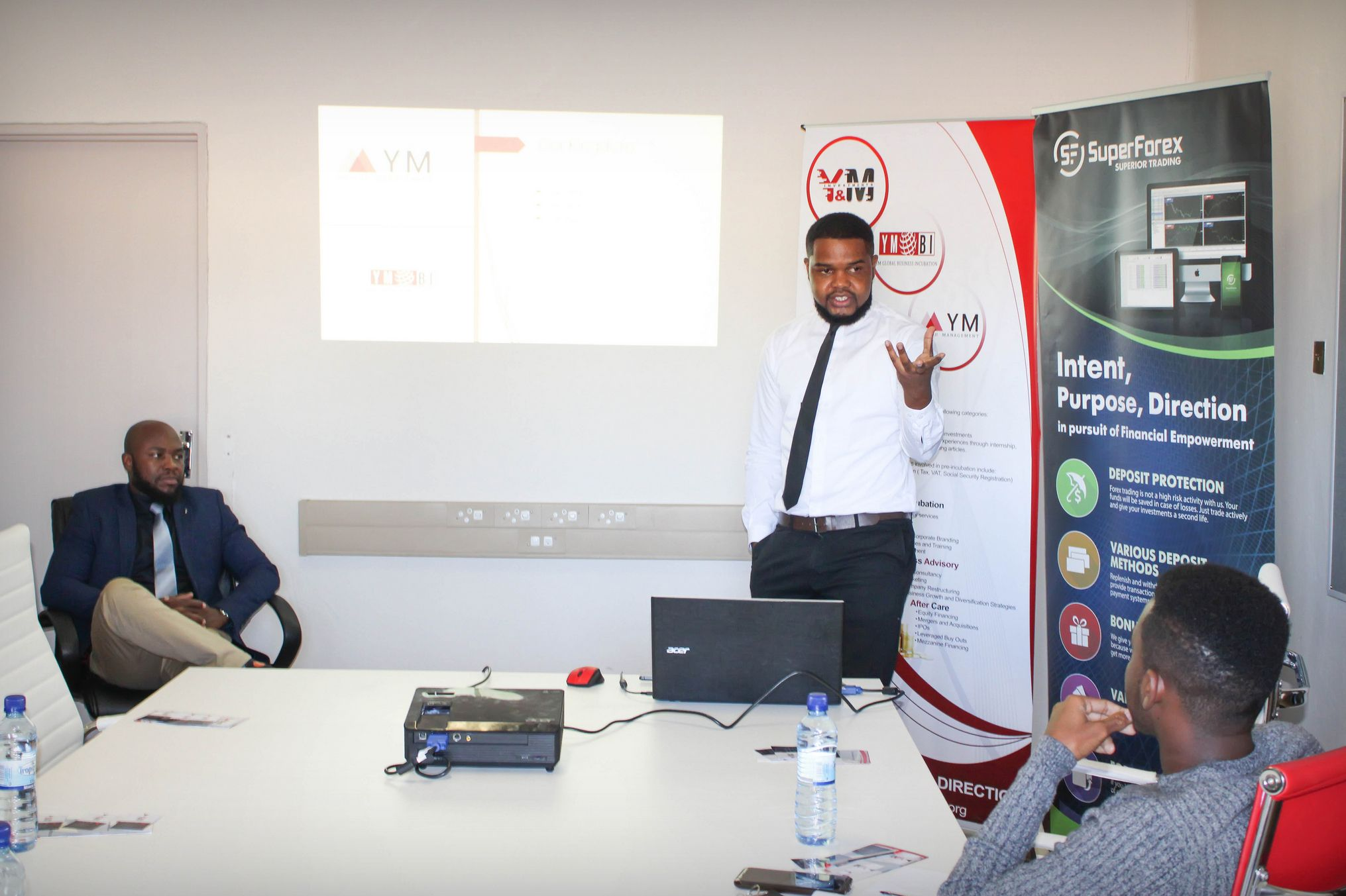 On June 8 We Organized A Special Trading Seminar In Windhoek
