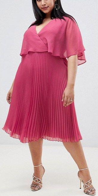 42 Plus Size Wedding Guest Dresses {with Sleeves} - Alexa Webb #weddingguestdress