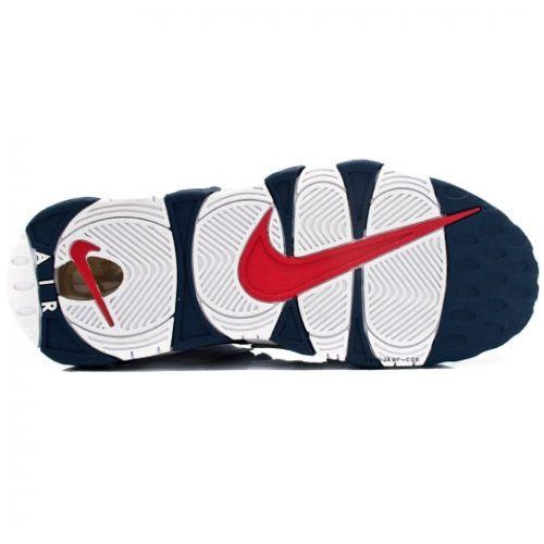 buy online cae4e e976d Nike Air More Uptempo Olympic Scottie Pippen 414962-401 Midnight Navy White  Spirit Red  89.00