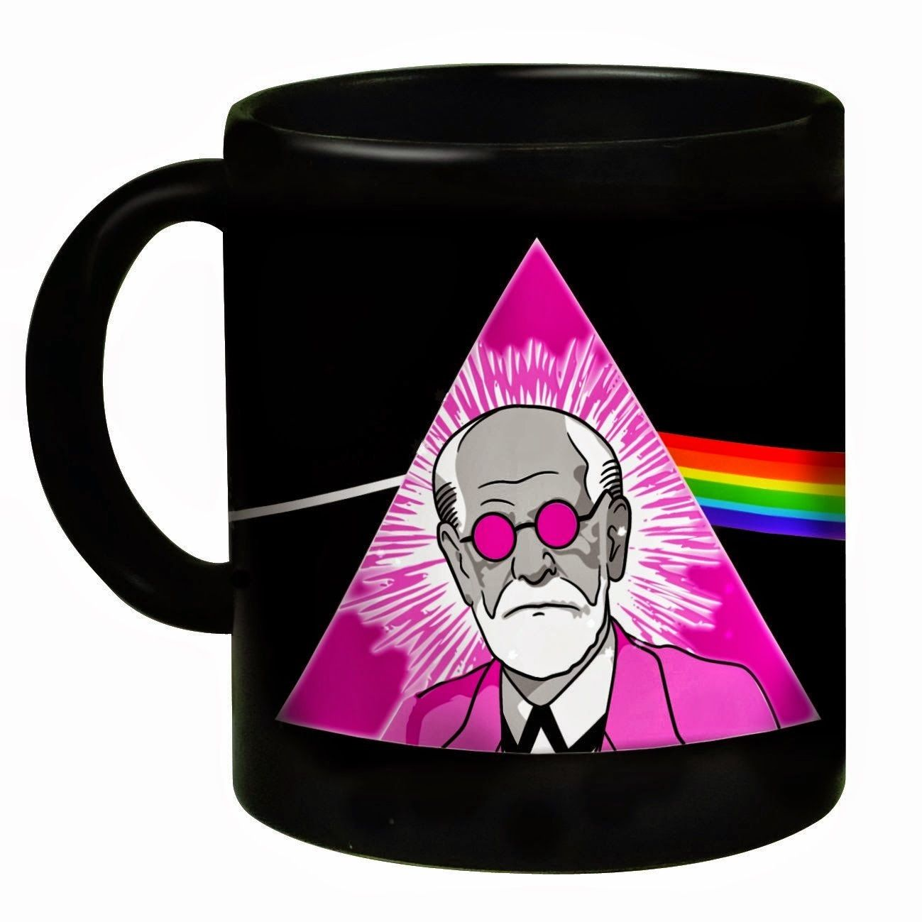 Pink Freud Mug Mugs, Psychology gifts, Mug designs