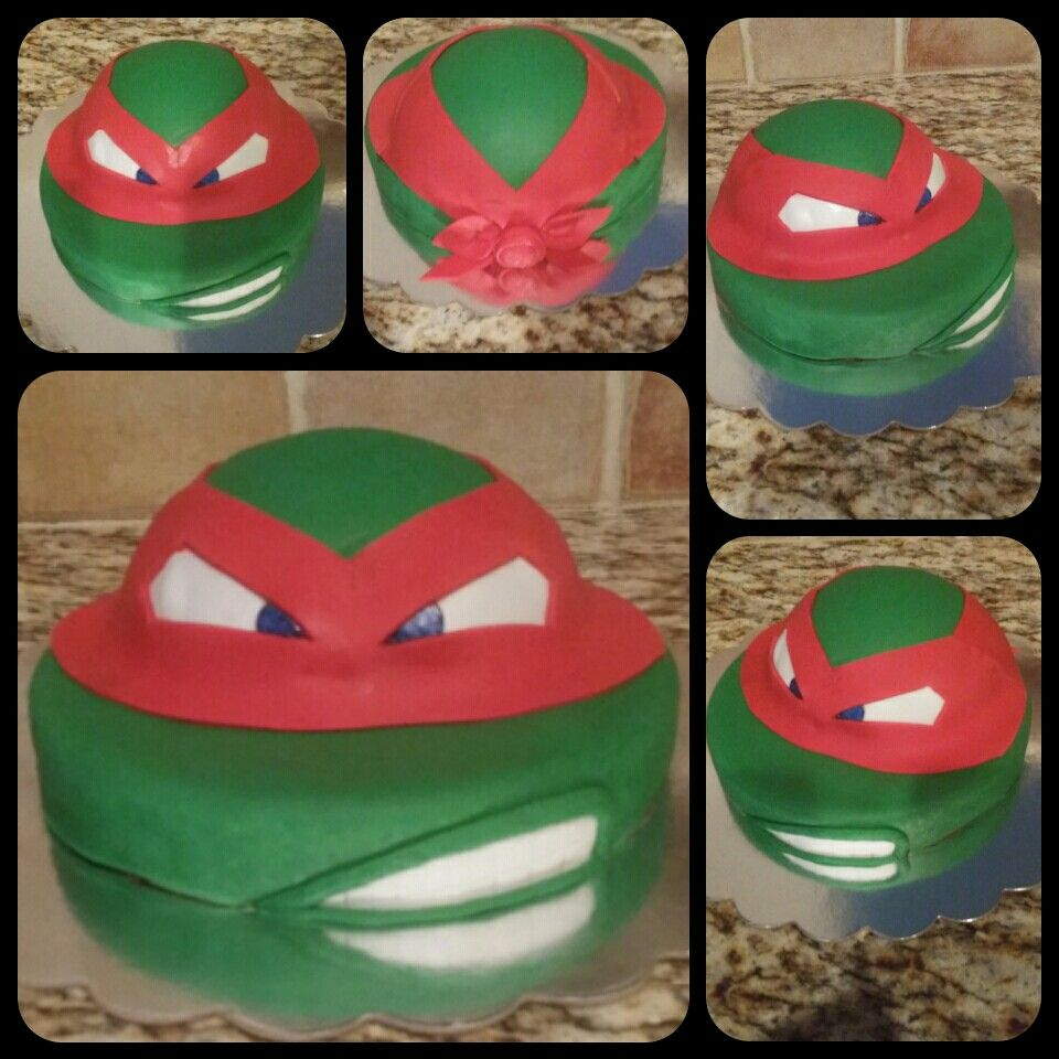 My newest addition Made today for Hubbys birthday Ninja turtle