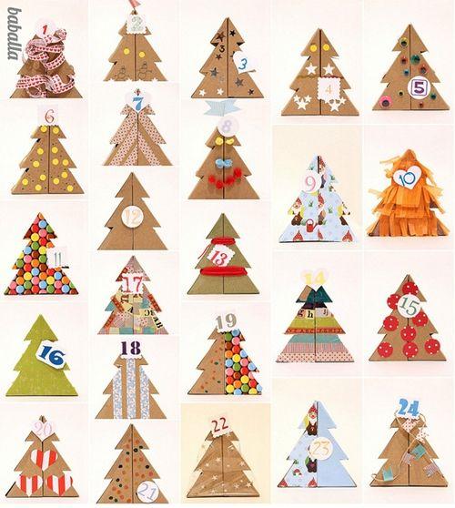 Calendario Adviento Infantil.Calendarios De Adviento Decoraciones Navidenas Pinterest