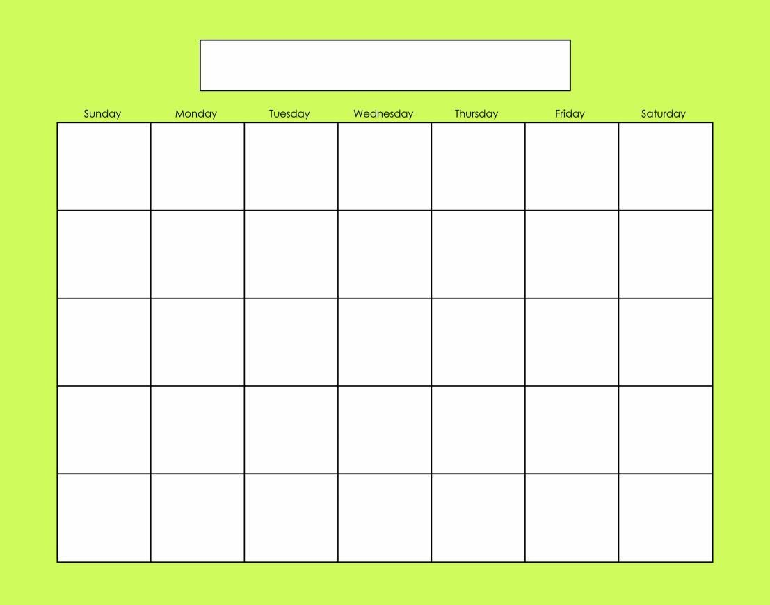 Blank Calendars Activity Calendars Activity Calendar Blank