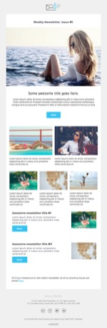 Saas Email Templates Responsive Html Email Templates For Saas