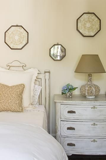 Suzie: Elegant, chic bedroom Cream ivory paint wall colors ...