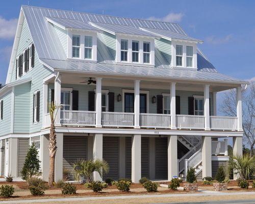 JacksonBuilt Custom Homes   Tropical   Exterior   Charleston   JacksonBuilt  Custom Homes