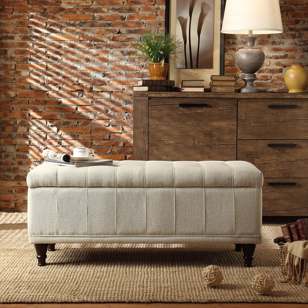 INSPIRE Q Tufted Storage Bench - Overstock Shopping - Great Deals on  INSPIRE Q Benches