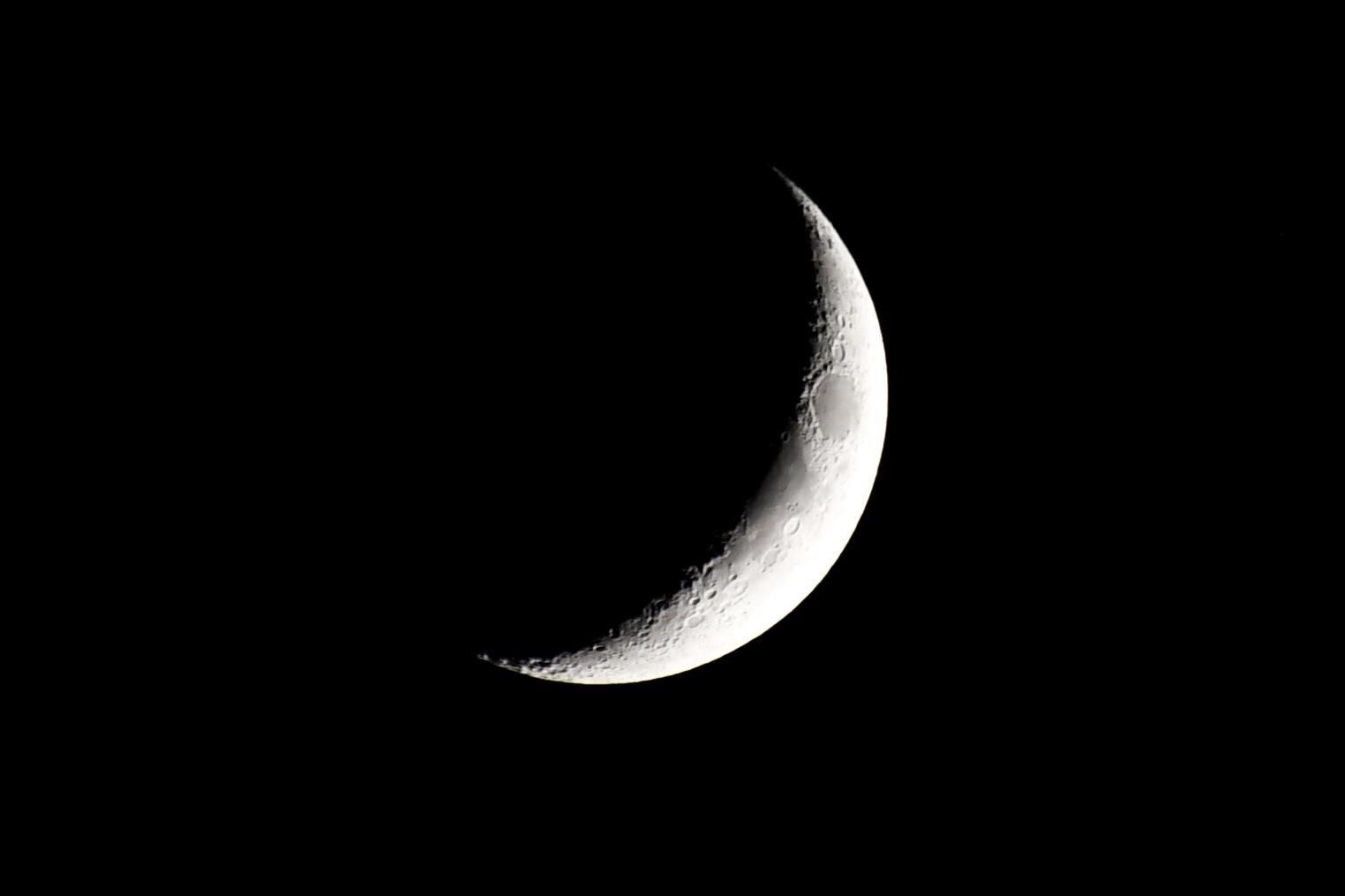 Waxing Crescent Moon Aug 14th 1524x1015 Oc Https Ift Tt 2mj3ju0 Crescent Moon Art Cresent Moon Tattoo Moon