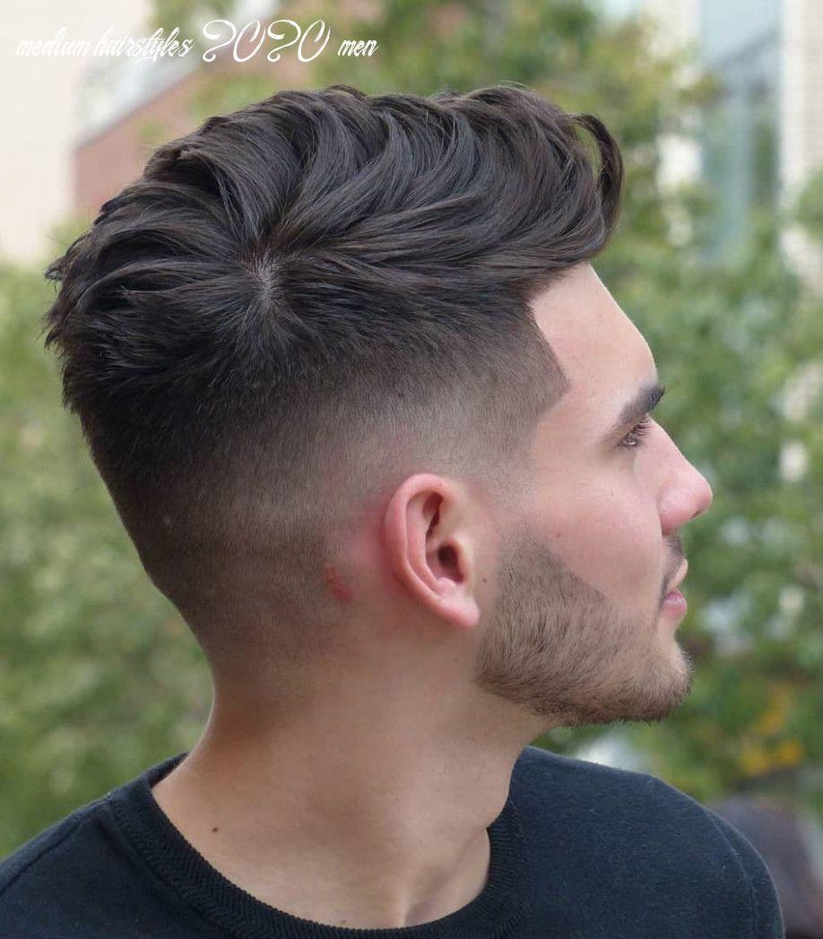 12 medium hairstyles 2020 men thick hair styles