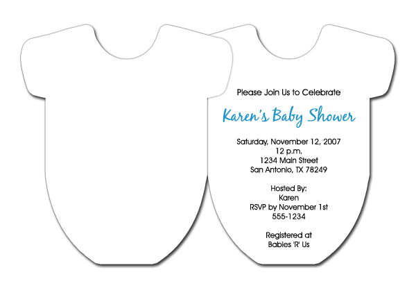 Doc21901590 Sample Invitation for Baby Shower Samples Of Baby – Baby Shower Invite Samples