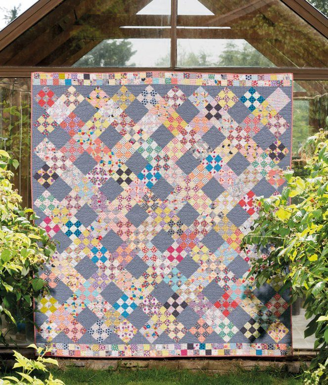 Country Getaway Quilt Pattern Pieced GR