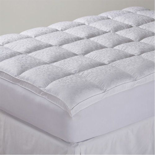 Comfort Classics Summerhill Mattress Pad White Full by