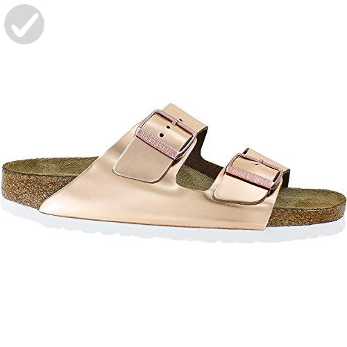 bd8a00c036c2 Birkenstock Women s Arizona Soft Footbed Copper Leather 38 N - All about  women ( Amazon Partner-Link)