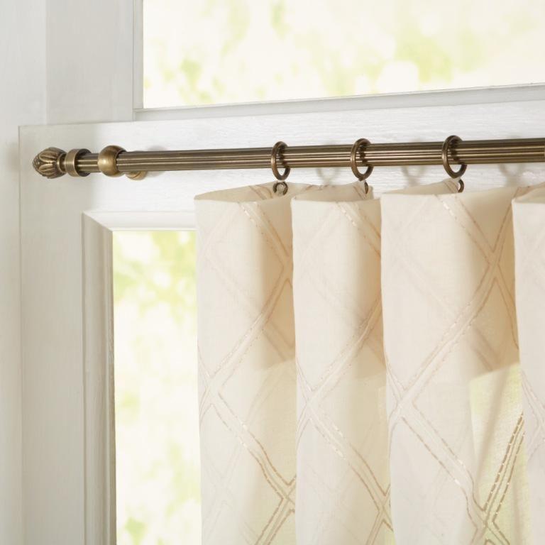 decorative windows for bathrooms.htm fabricut s decorative sash rod hardware collection  com imagens   fabricut s decorative sash rod hardware