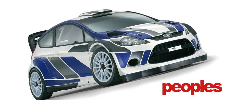 Photo of The #Ford #Fiesta #WRC edition has had almost every aspect of the car #modified …