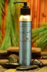 Auyrvedic Oil-Vata for apres soak in the hotsprings or bath.